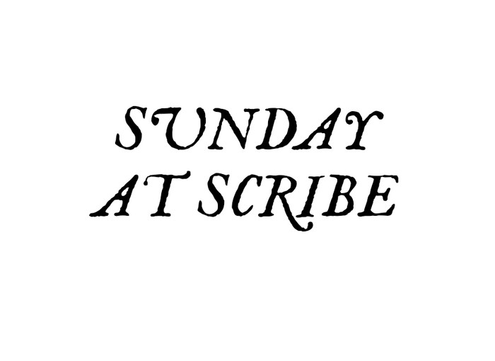 Pick Up Weekend SUNDAY at SCRIBE Image